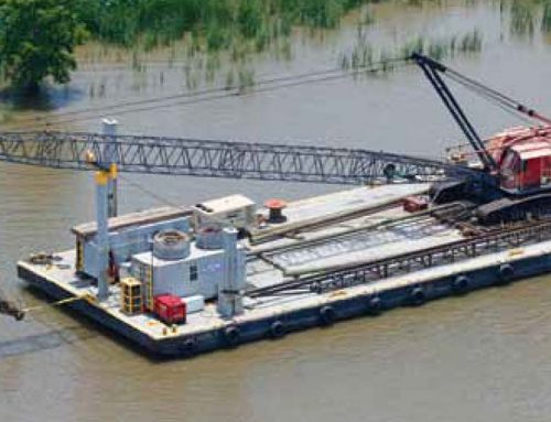 Crane Barge Ms. Beverly
